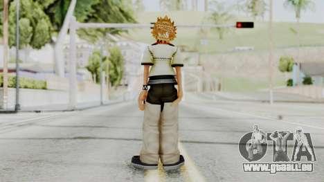 Kingdom Hearts 2 - Roxas Default pour GTA San Andreas troisième écran