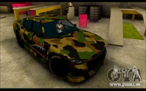 Bravado Buffalo Camo Shark Mouth pour GTA San Andreas