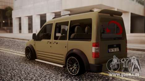 Ford Connect für GTA San Andreas linke Ansicht