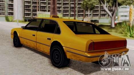 Taxi Emperor v1.0 für GTA San Andreas linke Ansicht