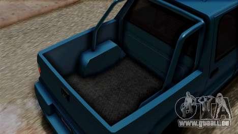 Syndicate Criminal (Cavalcade FXT) from SR3 für GTA San Andreas Rückansicht