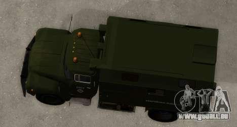ZIL-130 Urgence à l'Eau pour GTA San Andreas vue de droite
