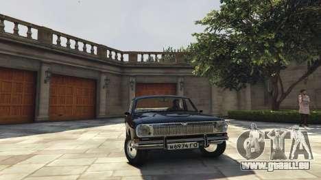GAZ-24 für GTA 5