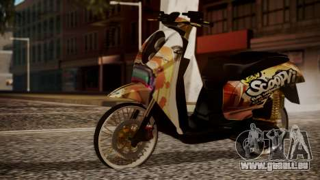 Honda Scoopy New Pink pour GTA San Andreas
