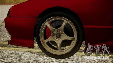 Elegy NR32 with Neon pour GTA San Andreas sur la vue arrière gauche