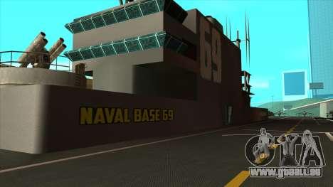 De nouvelles textures de San Fierro pour GTA San Andreas quatrième écran