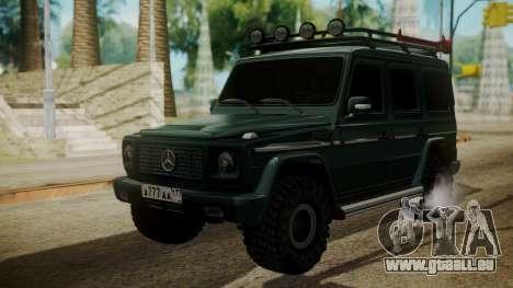 Mercedes-Benz G500 Off-Road pour GTA San Andreas