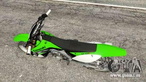Kawasaki KX450F pour GTA 5
