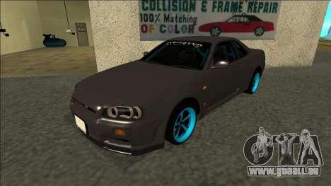 Nissan Skyline R34 Drift Monster Energy pour GTA San Andreas