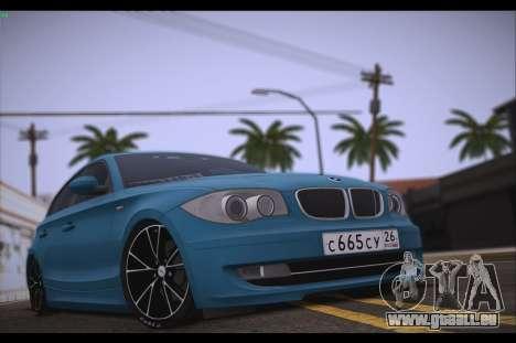 BMW 118i pour GTA San Andreas