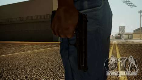 Beretta M9 Battlefield 3 pour GTA San Andreas troisième écran