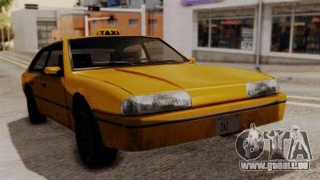 Taxi Emperor v1.0 pour GTA San Andreas sur la vue arrière gauche