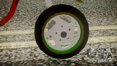 Proto Rasta pour GTA San Andreas sur la vue arrière gauche
