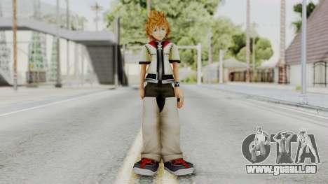 Kingdom Hearts 2 - Roxas Default pour GTA San Andreas deuxième écran