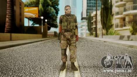 Venom Snake Woodland pour GTA San Andreas deuxième écran