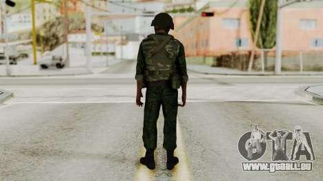 L'atmosphère de soldat pour GTA San Andreas troisième écran