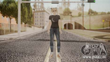 DoA 5 Ultimate - Marie Rose Punk für GTA San Andreas zweiten Screenshot
