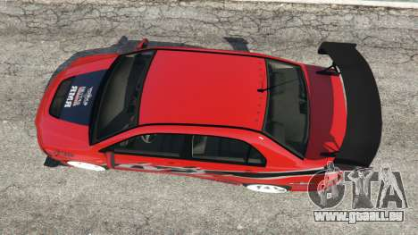 Mitsubishi Lancer Evolution IX FNF pour GTA 5
