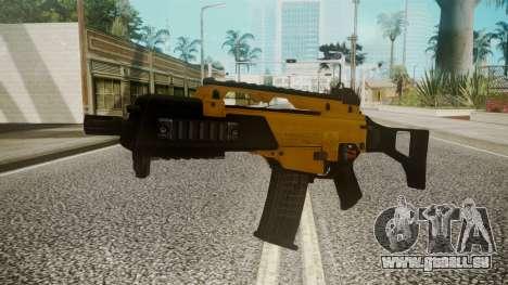 G36C Gold für GTA San Andreas zweiten Screenshot
