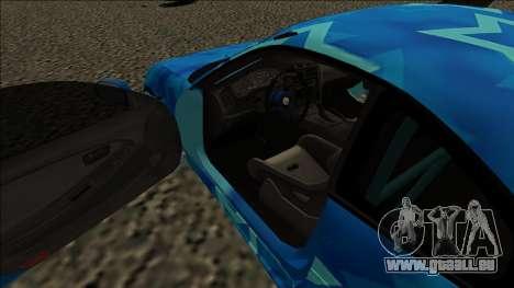 Toyota MR2 Drift Blue Star pour GTA San Andreas vue de droite
