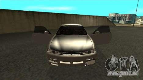 Nissan 200sx Drift JDM pour GTA San Andreas vue intérieure