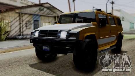 Luchadores Bulldog (Patriot) from SR3 pour GTA San Andreas