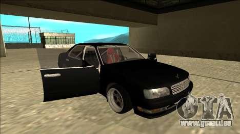 Nissan Cedric Drift für GTA San Andreas Seitenansicht