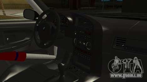BMW M3 E36 Happy Drift Friends pour GTA San Andreas vue de droite