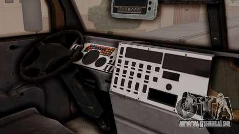 La tempête (de l'appareil) pour GTA San Andreas vue de droite