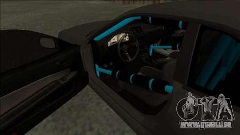 Nissan Skyline R34 Drift Monster Energy pour GTA San Andreas vue de droite