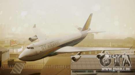 Boeing 747-400 Jat Airways für GTA San Andreas