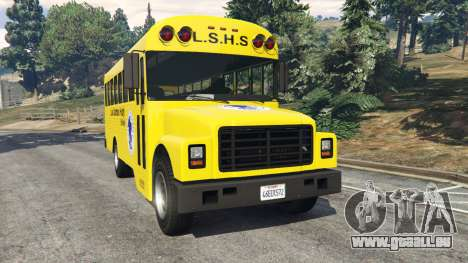 Klassische Schule bus für GTA 5