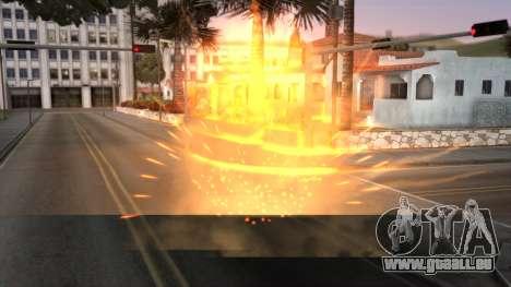 Realistic Effects Particles pour GTA San Andreas deuxième écran