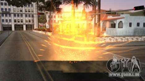Realistic Effects Particles für GTA San Andreas zweiten Screenshot