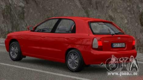 Daewoo Nubira I Hatchback CDX 1997 für GTA 4 linke Ansicht