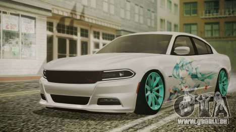 Dodge Charger RT 2015 Hatsune Miku pour GTA San Andreas