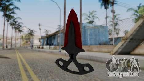 L'ombre de la Dague Sanglante des toiles d'araig pour GTA San Andreas deuxième écran