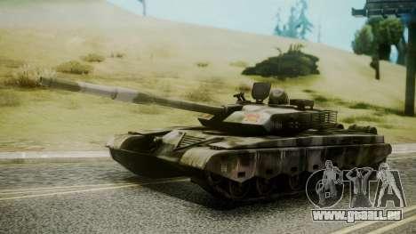 Type 99 from Mercenaries 2 pour GTA San Andreas