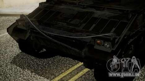 VD-1710 Armadillo APC Camo pour GTA San Andreas vue de droite