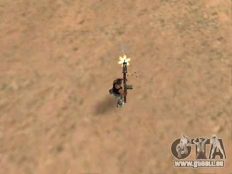 M249 für GTA San Andreas fünften Screenshot