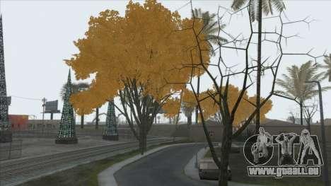Autumn in SA v2 für GTA San Andreas