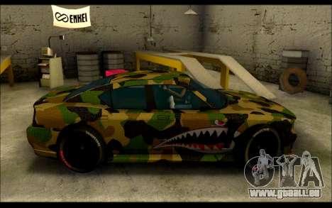 Bravado Buffalo Camo Shark Mouth für GTA San Andreas linke Ansicht