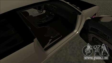 Nissan 200sx Drift JDM pour GTA San Andreas sur la vue arrière gauche