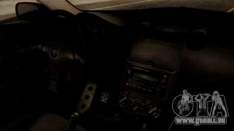 Toyota Celica SS2 Tunable pour GTA San Andreas vue de droite