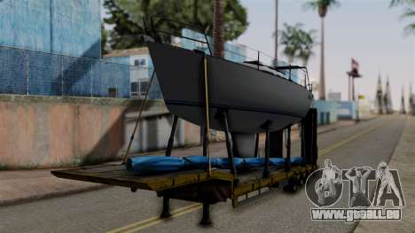 Overweight Trailer Yellow für GTA San Andreas