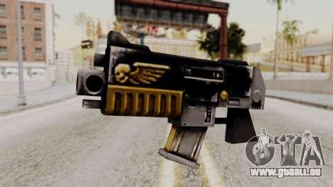 Un bolter de Warhammer 40k pour GTA San Andreas
