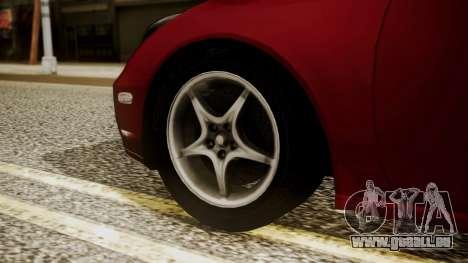 Toyota Celica SS2 Tunable pour GTA San Andreas sur la vue arrière gauche