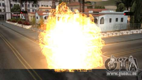 Realistic Effects Particles pour GTA San Andreas