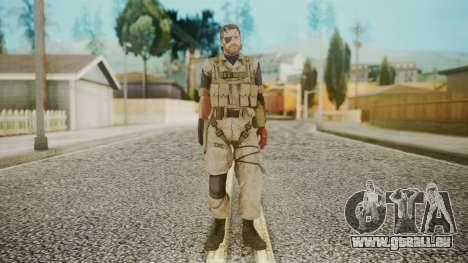 Venom Snake Desert Fox pour GTA San Andreas deuxième écran