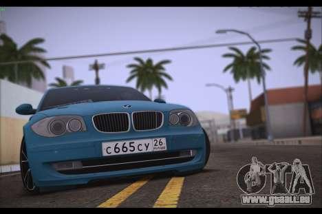 BMW 118i für GTA San Andreas rechten Ansicht